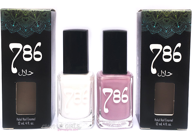 786 Cosmetics Halal Nail Enamel in Kashmir and Abu Dhabi - Review