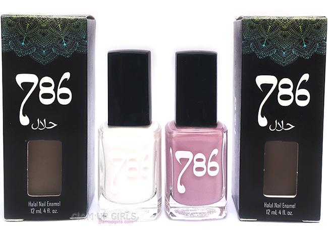 786 Cosmetics Halal Nail Enamel in Kashmir and Abu Dhabi - Review
