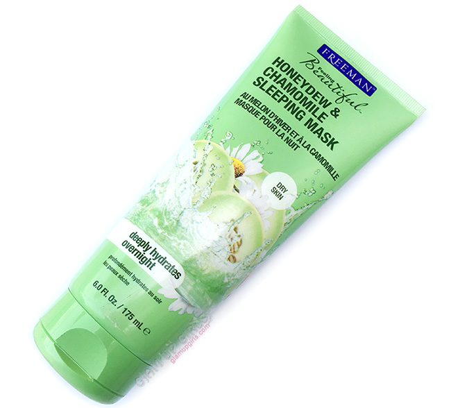 Freeman Honeydew and Chamomile Sleeping Mask - Review