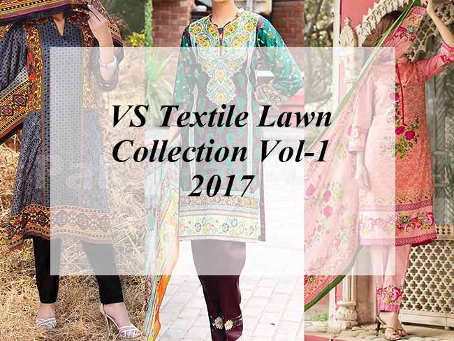 VS Textile Lawn Collection Vol-1 2017