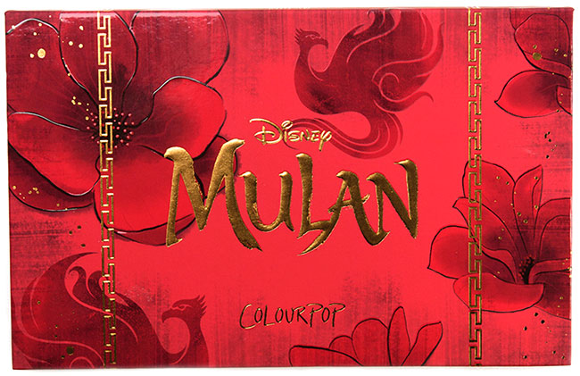 ColourPop Mulan Eyeshadow Palette