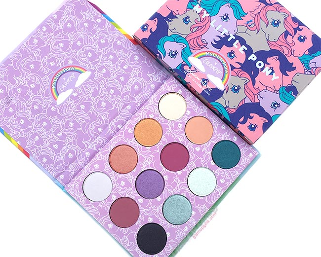 ColourPop My Little Pony Pressed Powder Eyeshadow Palette - Review and Swatches