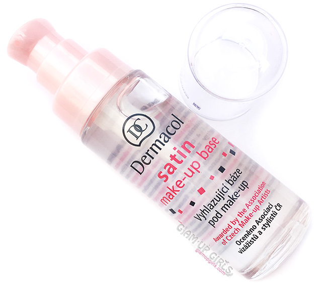 Dermacol Satin Makeup Base Face Primer, Review