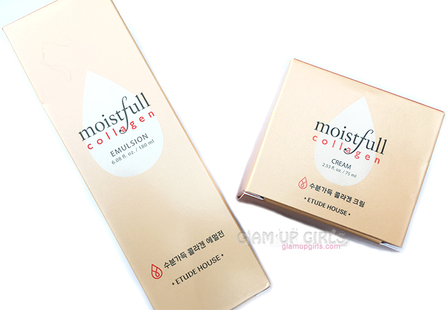 Etude House Moistfull Collagen Emulsion and Cream