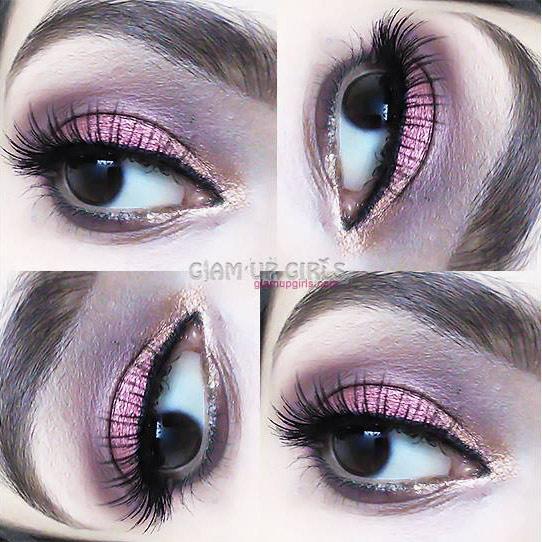Glamorous Burgundy Eye Look - EOTD