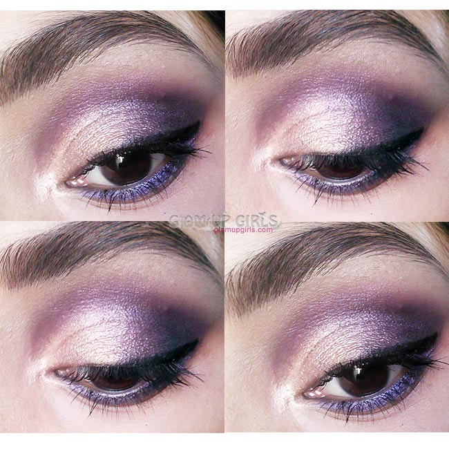 Soft Purple Smokey Eye Look - EOTD
