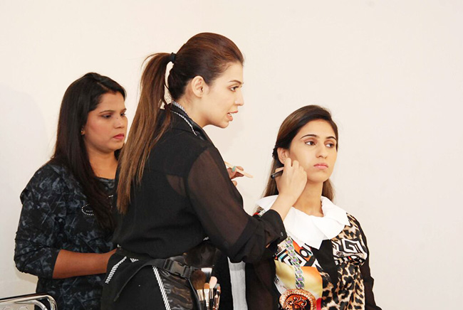 Makeup Demo by professionals