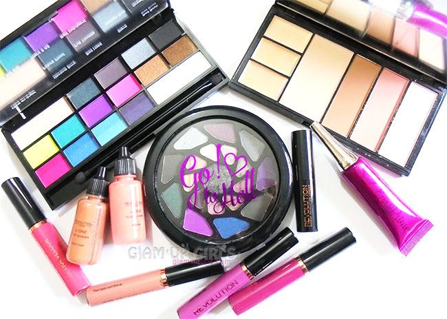 Makeup Revolution Haul from End of Summer Sale 2015