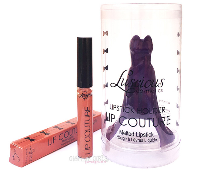 Luscious Lip Couture Matte Melted Lipstick in A La Mode - Review
