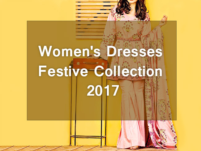 Women's Dresses Festive Collection 2017