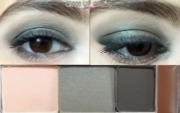 Benefit Smokin' Eyes kit EOTD - Review and Swatches