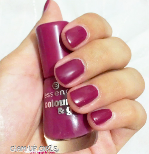 Essense colour and go Nail Polish in Be Berry Now - Review and Swatches