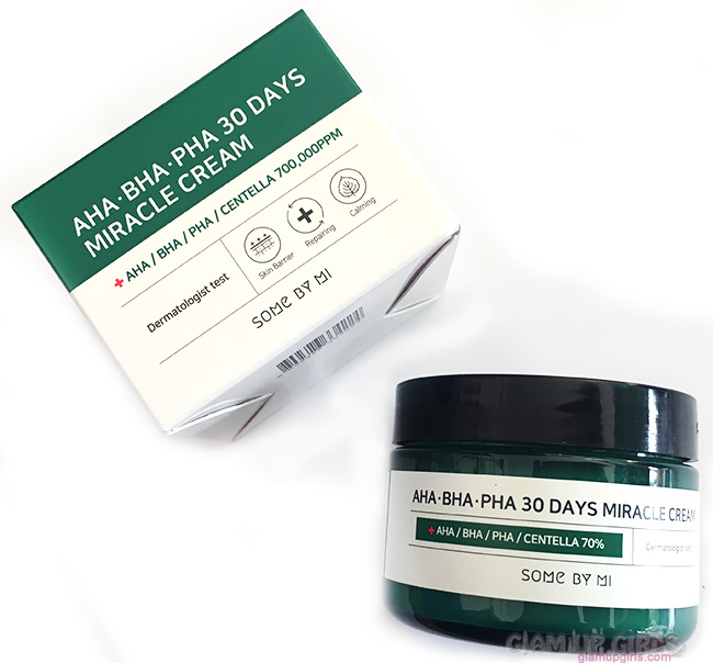 Some By Mi - AHA, BHA, PHA 30 Days Miracle Cream - Review