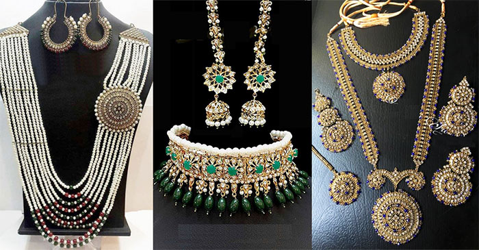 Jewellery for brides, weddings