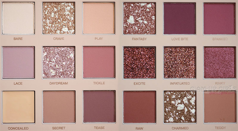 Huda Beauty New Nude Eyeshadow Palette Close Up