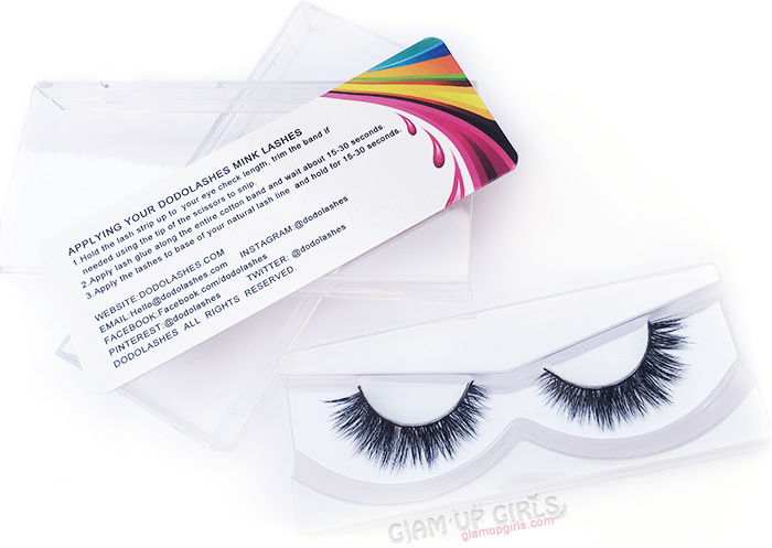 Dodolashes Mink Lashes in D119