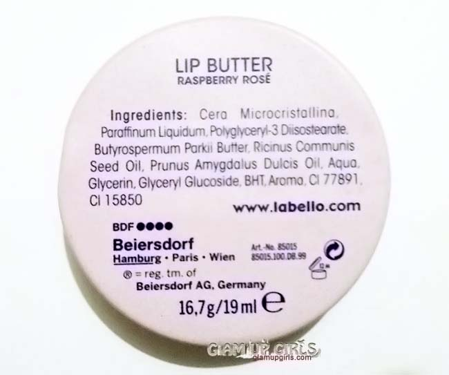 Labello Lip Butter Raspberry Rose - Review