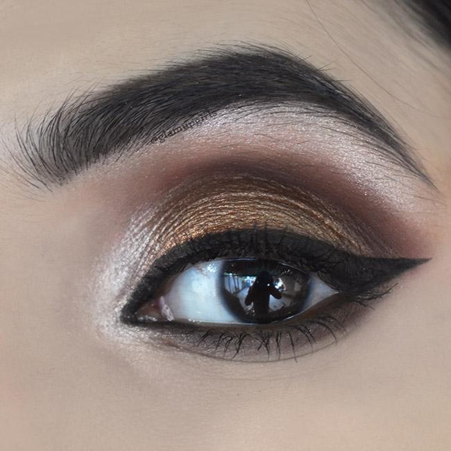 Bronze Eye Look for Fall - EOTD