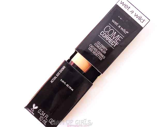 Wet n Wild Come Correct Celebrity Concealer in Medium Beige
