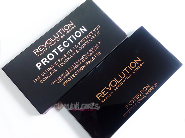 Makeup Revolution Protection Palette in Light/Medium - Review and Swatches