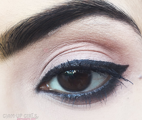 e.l.f. Intense Ink Eyeliner in Blackest Black Swatch