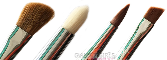 Sigma eye brushes in E70, E30, E05 and E65