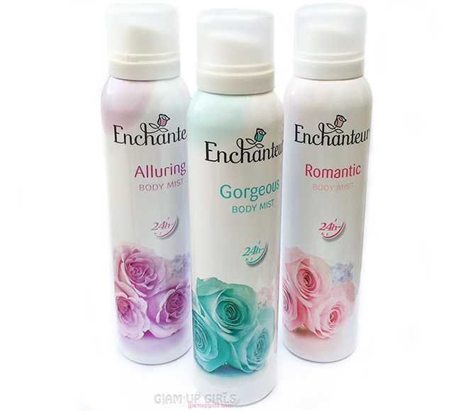 Enchanteur Body Mist in Alluring, Gorgeous and Romantic - Review