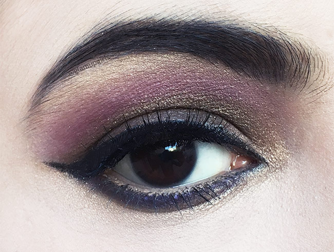 Brown Makeup look with Sigma Beauty Nightlife Eyeshadow by Camila Coelho