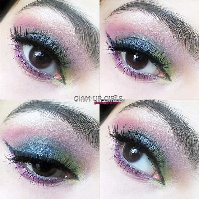 Peacock Eye Makeup - EOTD