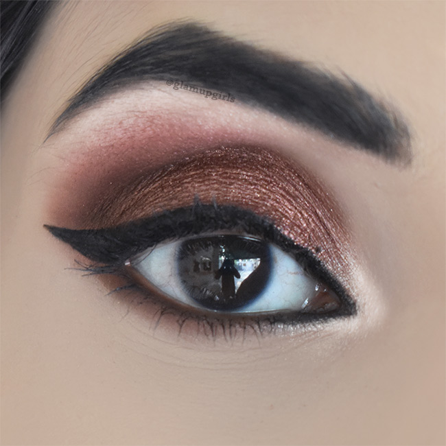 Copper Russet Eye Look for Fall - EOTD