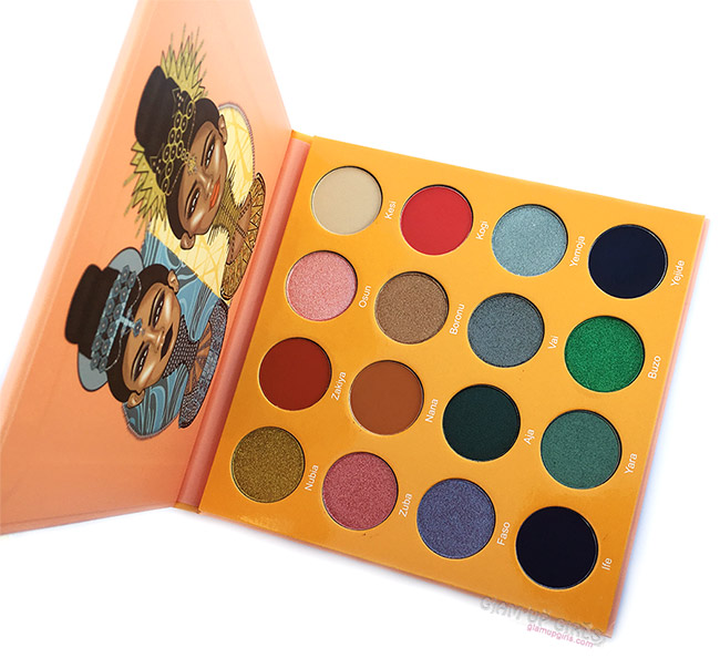 The Magic Mini Eyeshadow Palette by Juvia's Place - Review and Swatches