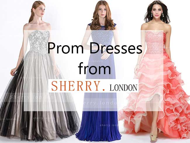 Prom Dresses from Sherry London
