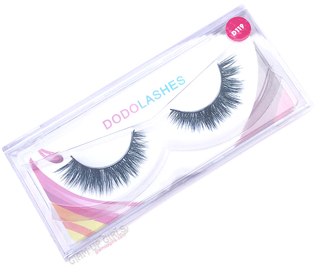 Dodolashes Mink Lashes in D119 - Review
