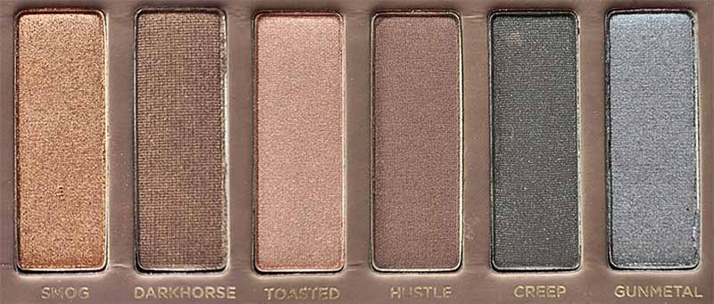 Urban Decay NAKED Palette Right Side