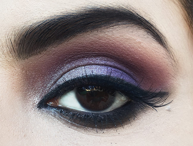 Makeup look with Sigma Beauty Nightlife Eyeshadow by Camila Coelho