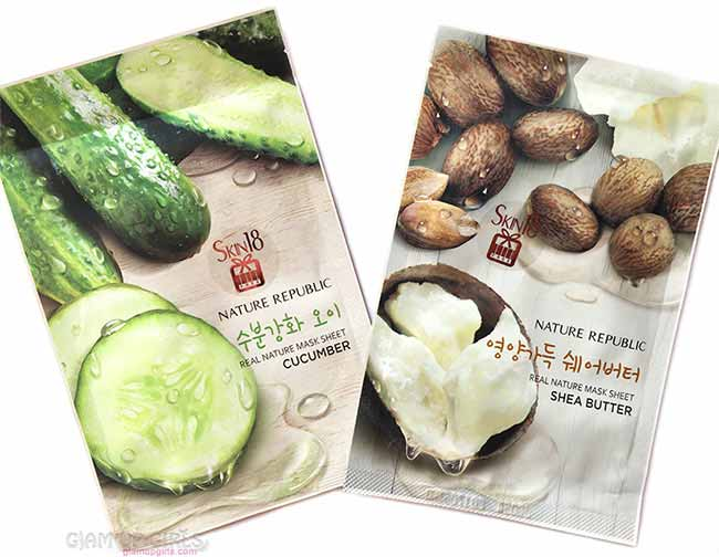 Nature Republic Real Nature Mask Sheets from Skin18 - Review
