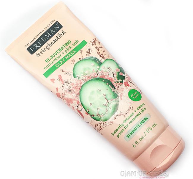 Freeman Rejuvenating Cucumber + Pink Salt Clay Mask - Review