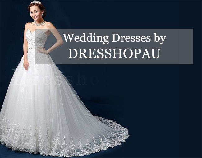 Wedding dresses by Dresshopau