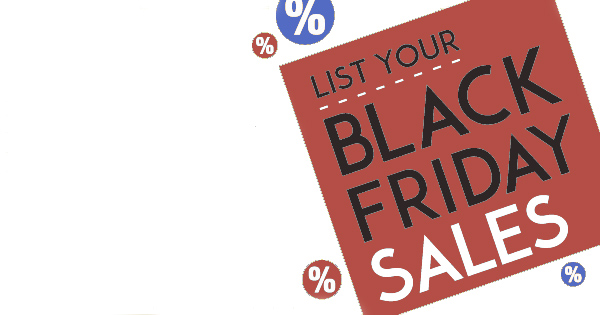 List your Black Friday sales