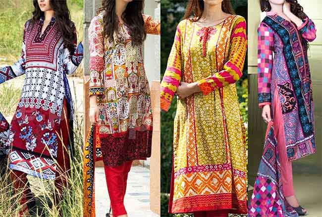Women's Printed Lawn 2016 Collection