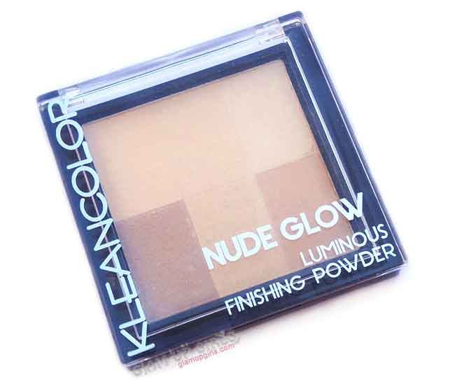 Kleancolor Nude Glow Luminous Finishing Powder in Natural