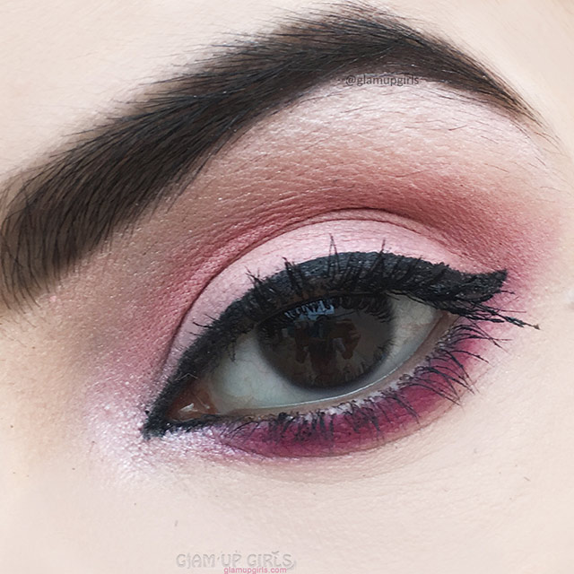 Soft Pink Eye Makeup Look - EOTD