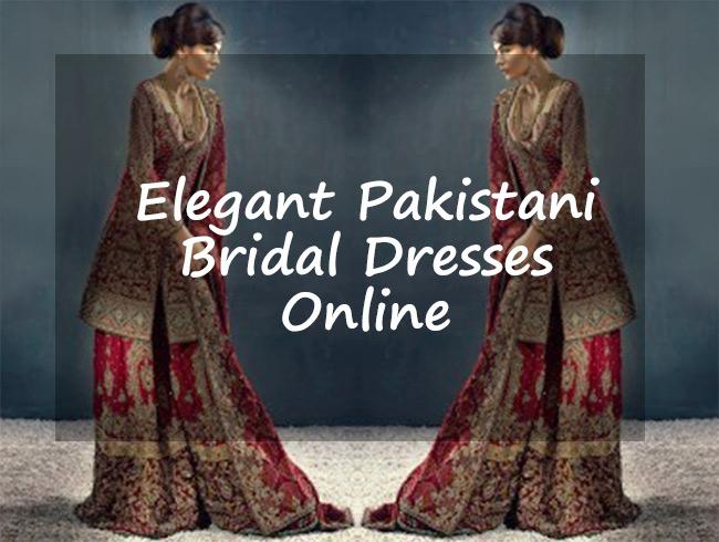 Elegant Pakistani Bridal Dresses Online