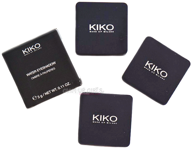 Kiko Milano Water Eyeshadows
