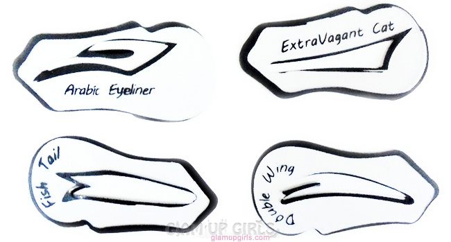 Eyeliner Stencils by Reasonablez.com