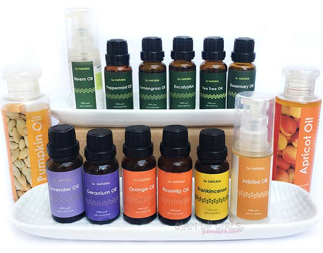 Essential Oils and Carrier Oils by Go Natural - Review