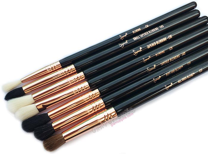 Sigma Beauty Ultimate Copper Eye Shadow Blending Brushes