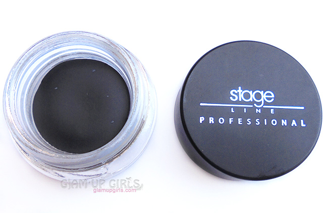 Stageline H-Fix Gel Eyeliner in Black - Review and Swatches