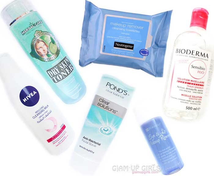 Best Makeup Removing Products and How to Use Them