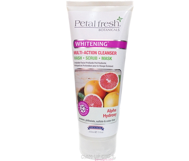 Petal Fresh Botanicals Multi Action Cleanser Wash, Scrub, Mask